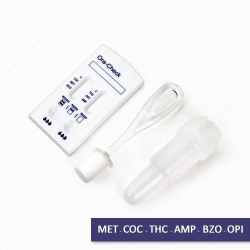 Prueba de 6 drogas saliva  G6DS1