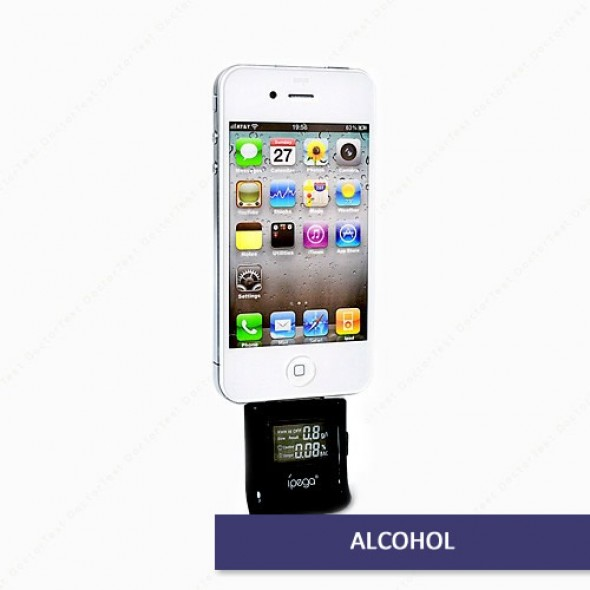 iPhone 6 & iPad Air 2 - Breathalyzer