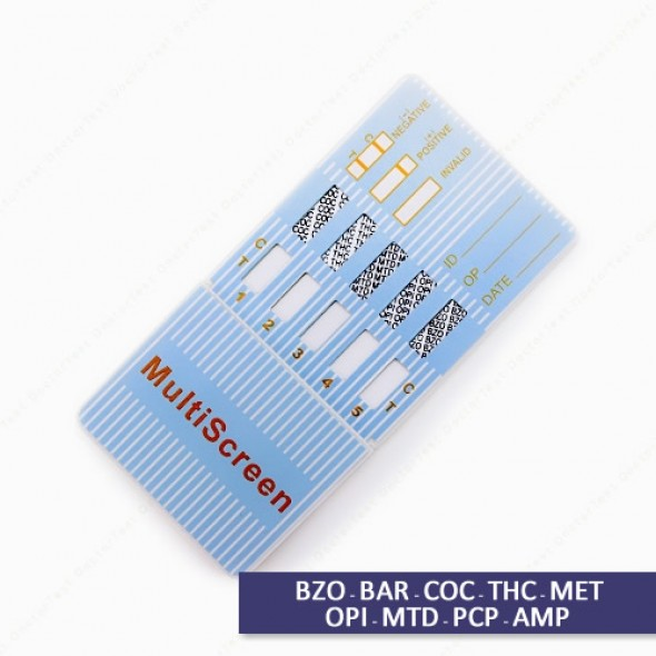 Multi Drug Test Kit - 9 Panel Dip