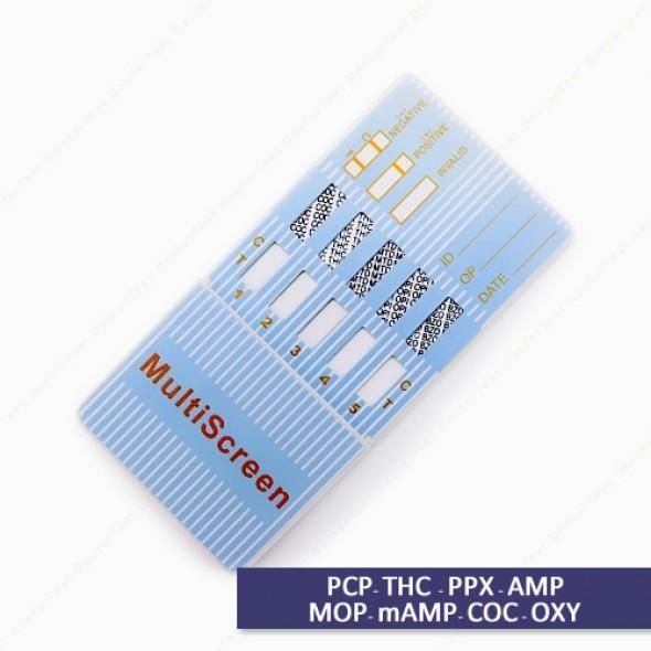 Multi Drug Test Kit - 8 Panel Dip