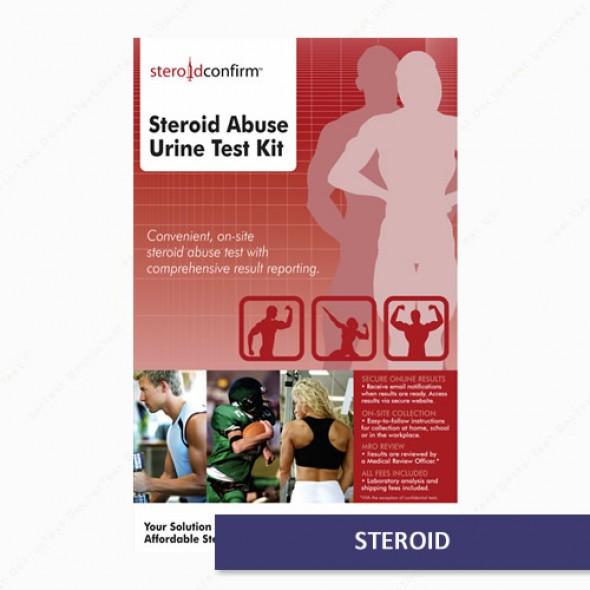 SteroidConfirm - Urine Testing Kit