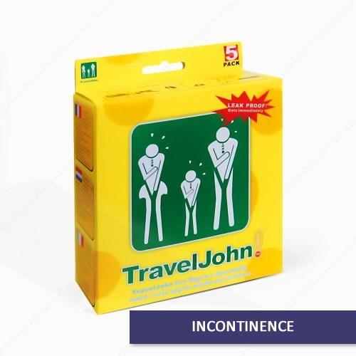 Buy Here Traveljohn Disposable Urinal Bags Us Free