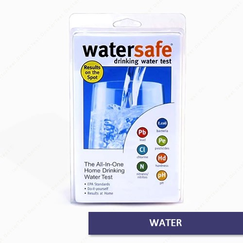 buy here watersafe city water quality test kit us free shipping. Black Bedroom Furniture Sets. Home Design Ideas