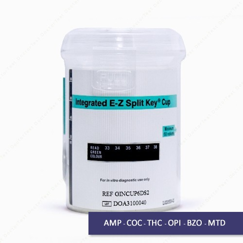 Cup Drug Test Kit - 6 Key