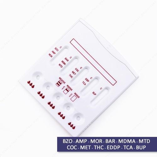 Multi Drug Test Kit - 12 Cassette