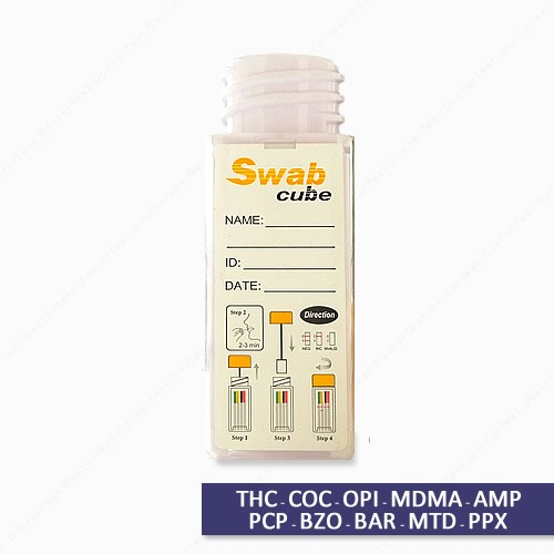 Multi Drug Test Kit - 10 Saliva Oral